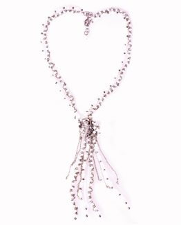 Gekko Long Statement Pearl Necklace Caterina Wills Jewellery