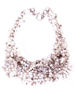 Gekko Statement Pearl Necklace Caterina Wills Jewellery