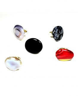 Gemstone Rings Various Caterina Wills Jewellery
