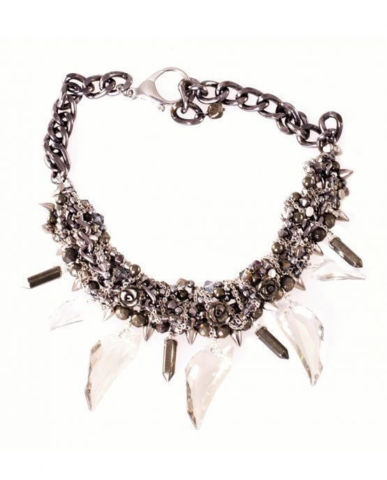 Swarovski Crystal Pegasus Necklace Caterina Wills Jewellery