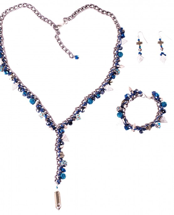 Blue Charm Complete Set Caterina Wills Jewellery