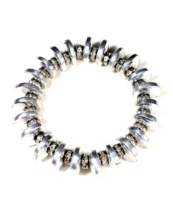 Aluminium Rondelle Bracelet