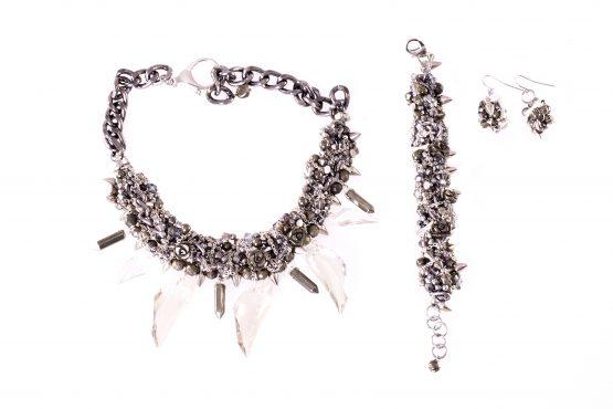 Silver Charm Matching Set Caterina Wills Jewellery