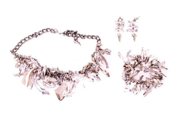 Mother Of Pearl Set Caterina Wills Jewellery