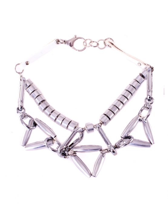 Chunky Aluminium Statement Necklace Caterina Wills Jewellery