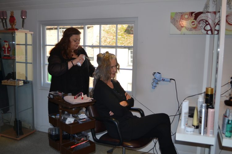 Behind the scenes with Nicola Griffin on our Winter Collection shoot - Caterina Wills Jewellery