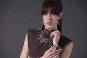 Statement jewellery collection look book | Caterina Wills Jewellery